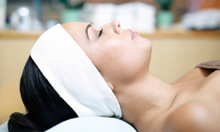 $82 for Facial, Brow Wax, Paraffin Treatment, and Makeup Application at Tasha's Day Spa ($164 Value)