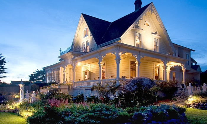 MacCallum House Inn & Restaurant - Mendocino: Two-Night Stay for Two with Complimentary Breakfast and a Bottle of Wine at MacCallum House Inn in Mendocino, CA