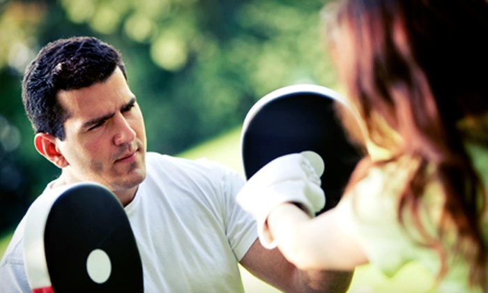 MAX10 Bodyshaping and Peak Fitness - Cedar Rapids: Kickboxing or Taekwondo Classes for a Father and Child at Max10 Bodyshaping and Peak Fitness (Up to 51% Off)