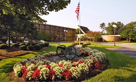 Stay with Breakfast at Fort Magruder Hotel and Conference Center in Williamsburg, VA. Dates into November.