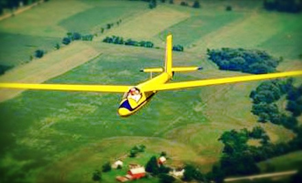 $149 for Glider Flight at 3,000 Feet with One Hour of Ground Instruction at Sky Soaring Glider Club ($299 Value)