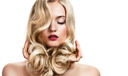 Haircut and Conditioning Treatment with Optional Partial or Full Highlights at Namaste Salon (Up to 54% Off)