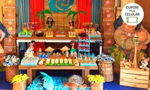 Revigore Decorações: Decoração de mesa de festa com a Revigore Decorações