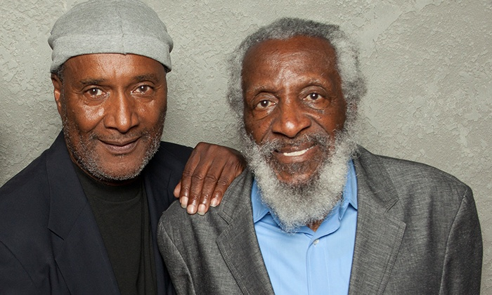 The Godfathers of Comedy: Paul Mooney & Dick Gregory - Palace of Fine Arts Theatre: The Godfathers of Comedy: Paul Mooney & Dick Gregory at Palace of Fine Arts Theatre on October 21 (Up to 51% Off)