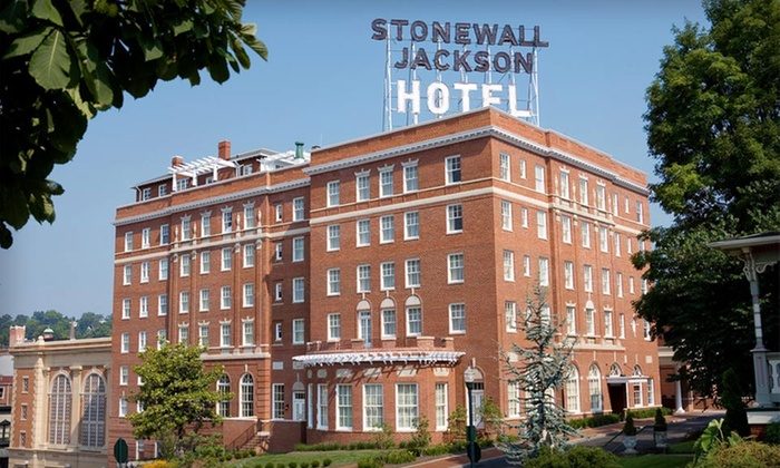 null - Washington DC: Stay Sunday—Thursday with Dining Credits at Stonewall Jackson Hotel in Staunton, VA. Dates into September Available.