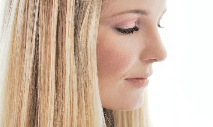 Pretty Lady Salon - North Park: Haircut, Shampoo, and Style with Optional Full Color or Partial or Full Highlights at Pretty Lady Salon (Up to 57% Off)