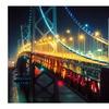 Beautiful Bridges HDR Night Photography Prints