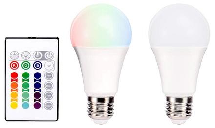 Bombillas LED con control remoto