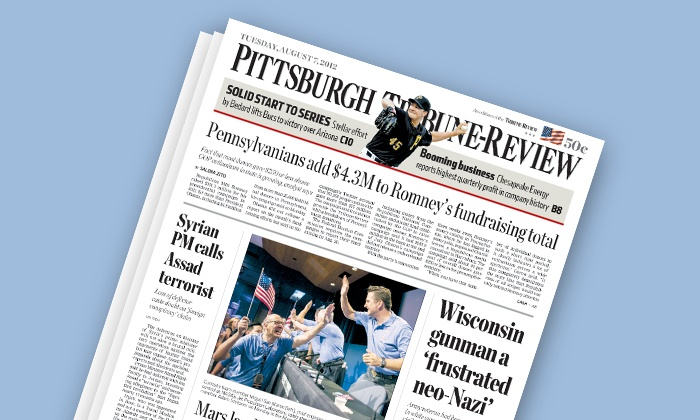 "Tribune-Review: $19 for One Year of the Digital Edition and Sunday Home Delivery from ""Tribune-Review"" ($52 Value)"