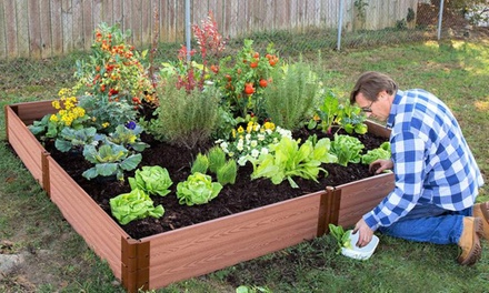 Up to 25 off on frame it all raised garden bed groupon for Gardening 4 less groupon