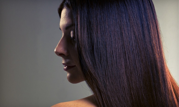 Salon Allure - Gulf Breeze: Cut with Full Color or Full or Partial Highlights, or a Keratin Treatment at Salon Allure (Up to 67% Off)