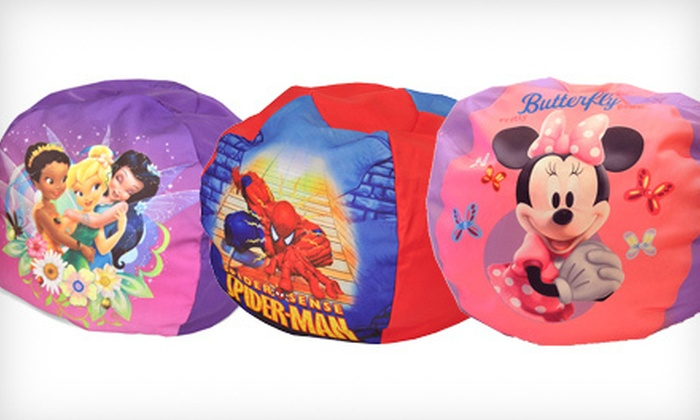 $24 for a Kids' Cartoon Beanbag Chair
