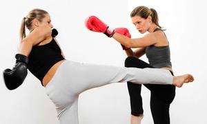 Madama Brazilian Jiu-Jitsu Academy: 5 or 10 Kickboxing Classes or One Month of Kickboxing Classes at Madama Brazilian Jiu-Jitsu Academy (Up to 80% Off)