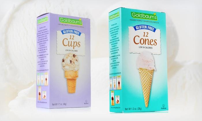 Goldbaums Gluten Free Ice Cream Cones: $9.99 for Goldbaums Gluten-Free Ice-Cream Cones or Cup Cones (Up to $19.56 List Price). Free Returns.