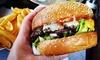 Burger nach Wahl & Pommes frites