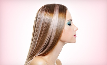 Women's Haircut and Blowout with Options for Highlights or Color at Shear Impressions (Up to 72% Off)