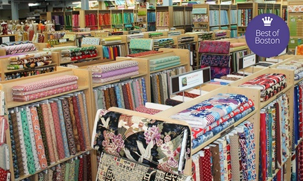 $20 for $40 Worth of Fabric, Yarn, and Sewing Notions at Fabric Place Basement