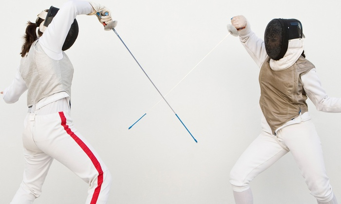 City of Woodland Parks & Recreation - Woodland: One or Two Months of Youth or Adult Fencing Classes at City of Woodland Parks & Recreation (Half Off)