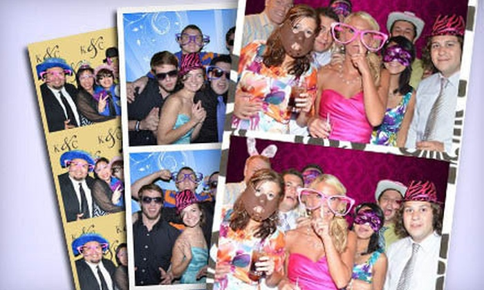 Club Photo Booth - Chicago: Photo-Booth or Interactive Photo-Booth Rental Package from Club Photo Booth (Up to 58% Off)
