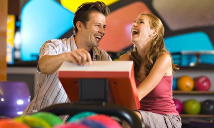 Two Games of Bowling and Shoe Rental for Two or Four at Spare Time (50% Off)