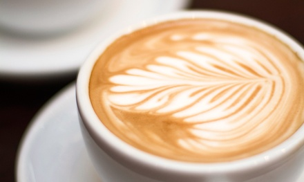 Coffee and Pastries at karma Koffee (Up to 40% Off). Two Options Available.