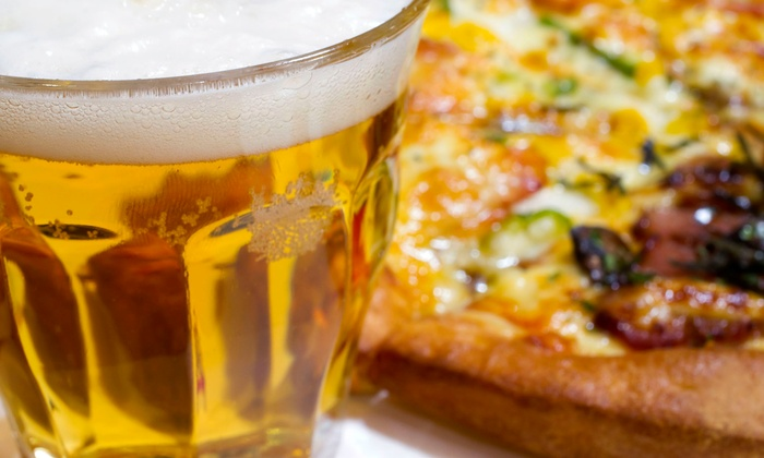 Bar 153 Sports Bar and Grill - Garden City: Pizza and Pitchers of Beer for Two or Four at Bar 153 Sports Bar and Grill (Up to 46% Off)