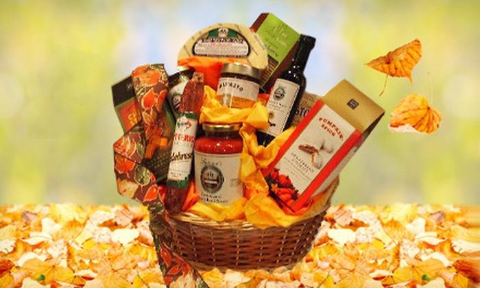 Latona's Specialties - Garfield: $49 for an Italian Pasta, Festive Holiday, or Fall Gathering Gift Basket  from Latona's Specialties ($100 Value)