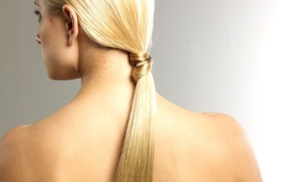 One Keratin Treatment with Option for Haircut, or Three Keratin Treatments at Salon Ö Tony (Up to 54% Off)