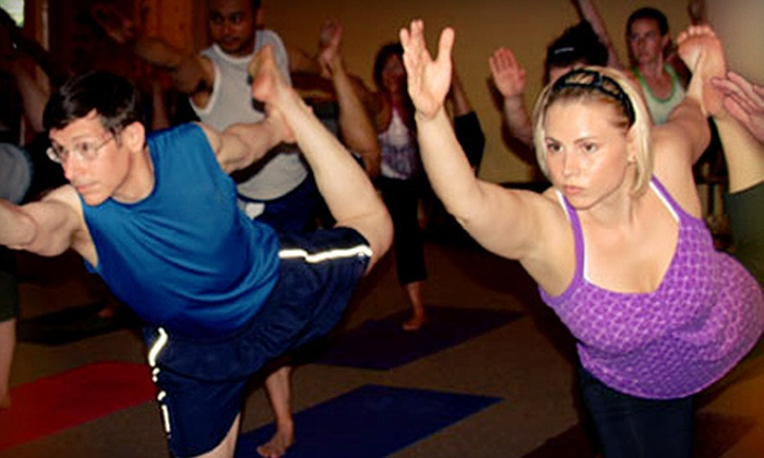 Yoga 101 - Evansville: 10 or 20 Hot-Yoga Classes at Yoga 101 (Up to 65% Off)