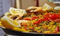 3-Gänge-Tapas-Paella-Menü für zwei oder vier Personen bei Los Flamencos (bis zu 58% sparen*)