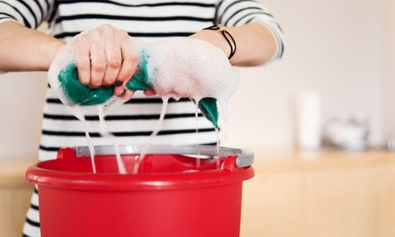 Housecleaning for Three or Five Rooms from Two Girls & A Mop, Inc. (Up to 56% Off)