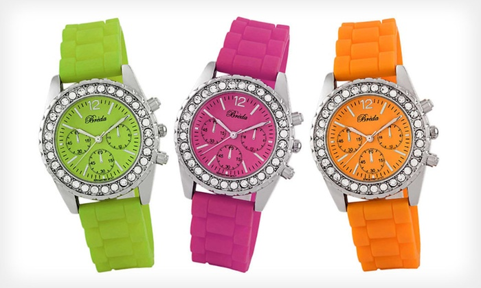 Breda Women's Meryl Watches: $9.99 for a Breda Women's Meryl Watch ($36 List Price). Eight Options Available. Free Returns.