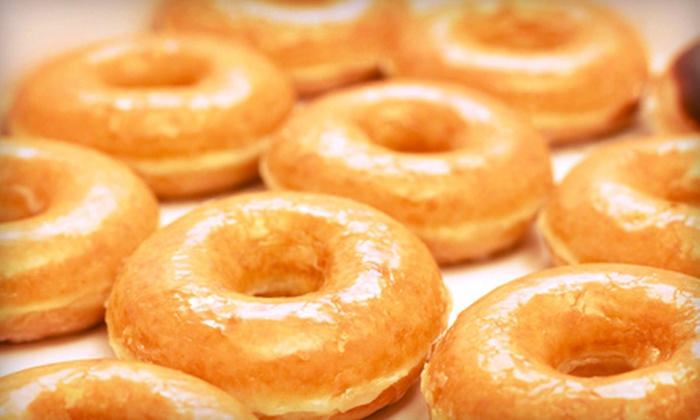 Glazed Doughnut Shop - Amherst Center: $7 for One Dozen Gourmet Doughnuts and Two Drinks at Glazed Doughnut Shop ($15 Value)