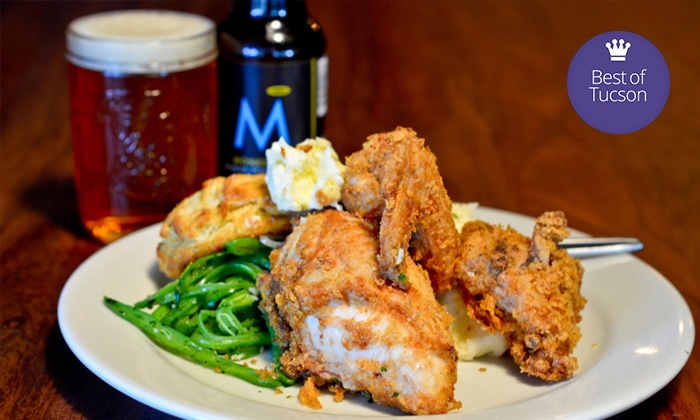 The Abbey - Tucson: American Comfort Food for Dinner at The Abbey (Up to 53% Off). Three Options Available.