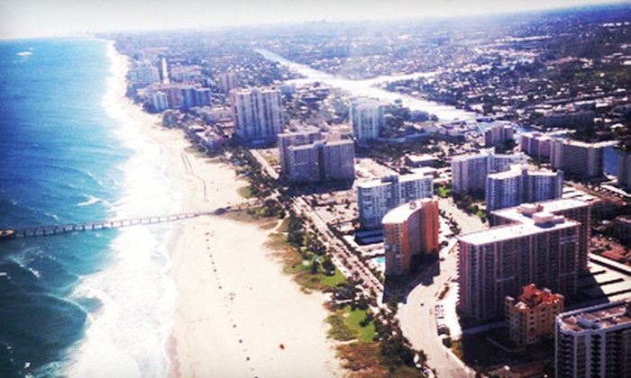 Beach Aviation - Pine Crest: $99 for a 45-Minute Scenic Flight Tour for Two from Beach Aviation ($249 Value)