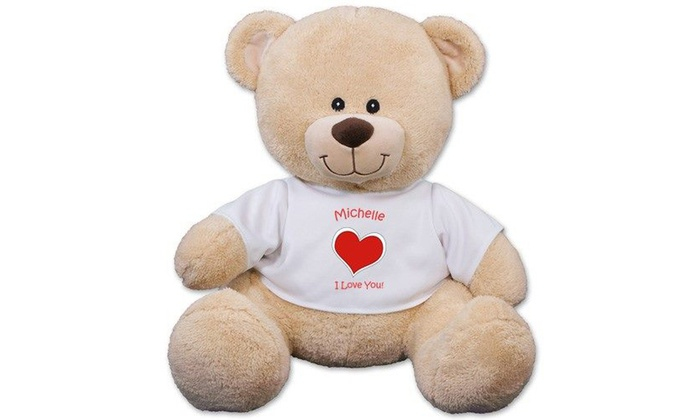 800Bear.com: $12.99 for a Personalized Sherman Bear from 800Bear.com ($24.98 Value)