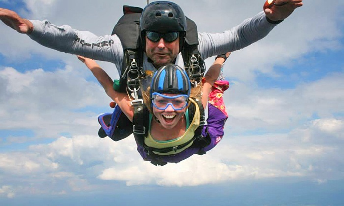 Blue Ridge Skydiving Adventures - New Market: $175 for Tandem Skydiving at Blue Ridge Skydiving Adventures ($240 Value)