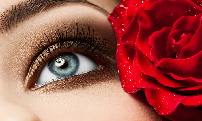 The Eye Bar  - Lenox: $175 for a Full Set of Eyelash Extensions with Under Eye Treatment at The Eye Bar (Up to $250 Value)