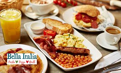 image for Prosecco Brunch for One or Two at Bella Italia, Nationwide (Up to 59% Off)