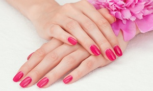 Glamapuss Beauty: $19 for a Gel Polish Manicure or $35 to Include Buff and Gel Polish for Toes at Glamapuss Beauty (Up to $75 Value)