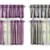 3-Piece Sasha Ombre  Kitchen Curtain