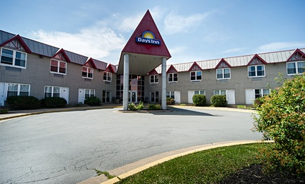 Groupon Deal: 1- or 2-Night Stay for Two at Days Inn Dartmouth in Nova Scotia. Combine Up to 6 Nights.