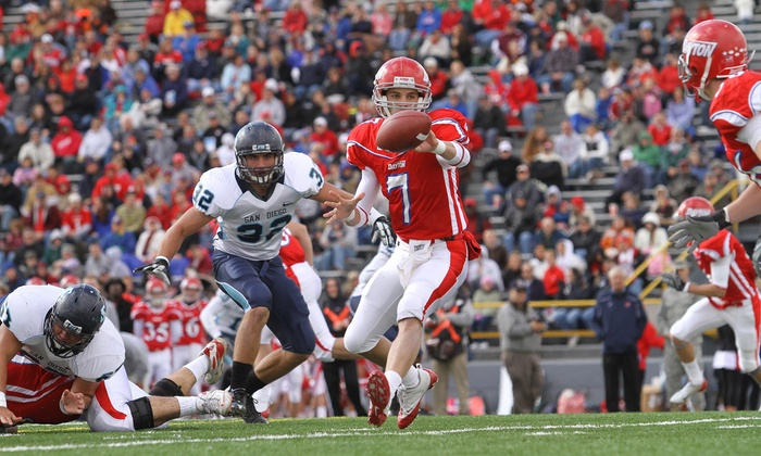 Dayton Flyers Football vs. Georgetown University Hoyas Football - University of Dayton Arena: $6 for One Ticket to the Dayton Flyers Football Season Opener at Welcome Stadium on September 6 (Up to $12 Value)