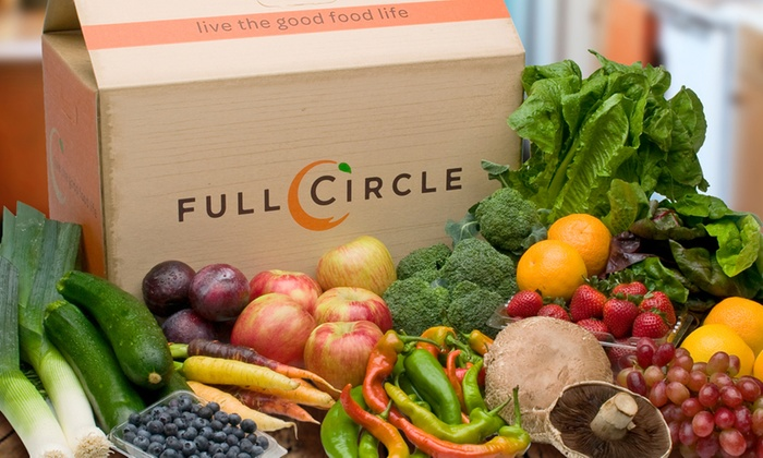 Full Circle - Sacramento: Up to 51% Off Organic Produce for Delivery from Full Circle