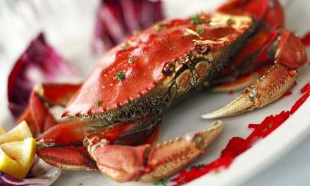Crab Plates for Two or Two Dozen Oysters and Two Drinks at Craw Station (Up to 41% Off)