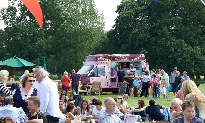 Arley Hall Food Festival Groupon