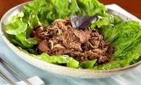 GROUPON: 47% Off Korean-Barbecue Dinner at Annangol Annangol
