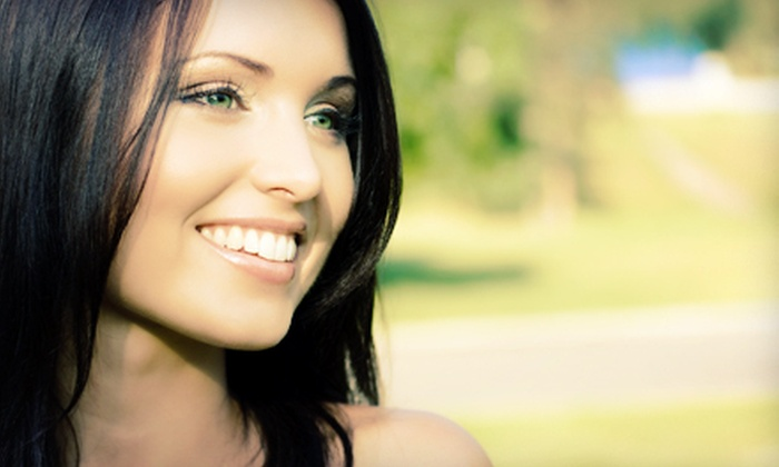 Delusional Shears Salon - Central Modesto: One or Three Teeth-Whitening Sessions at Delusional Shears Salon (Up to 67% Off)