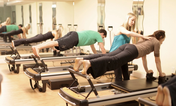 White House Pilates - Multiple Locations: 5 or 10 Mat Pilates Classes, or 3 Reformer Pilates Classes at White House Pilates (Up to 74% Off)