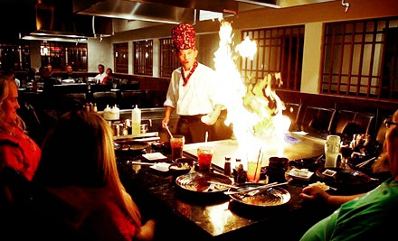 Japanese and Hibachi Cuisine at Osaka Steakhouse (Up to Half Off). Three Options Available.